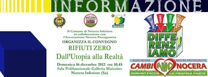 Copertina Convegno Rifiuti Zero 16 dic 2012