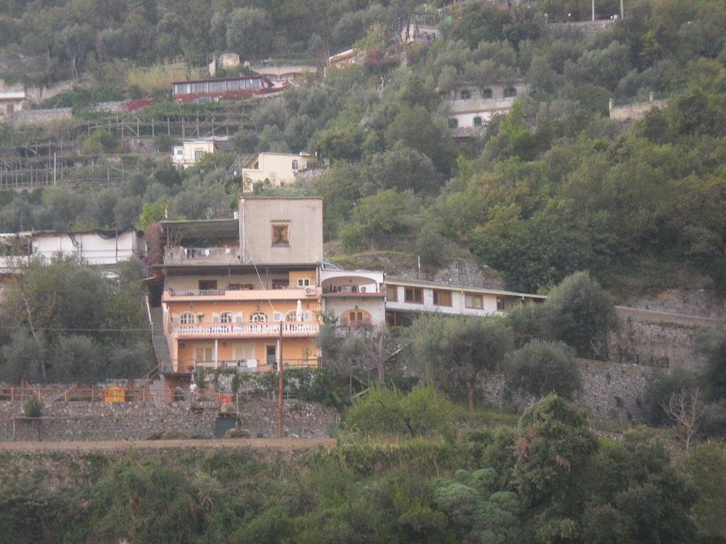 Foto sequestro cantiere in Positano