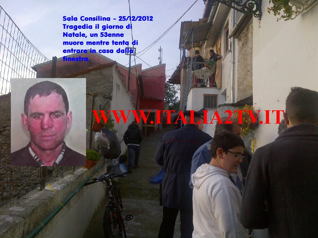Sala Consilina - morte  damian Ghiorghi via Salvator Rosa 1