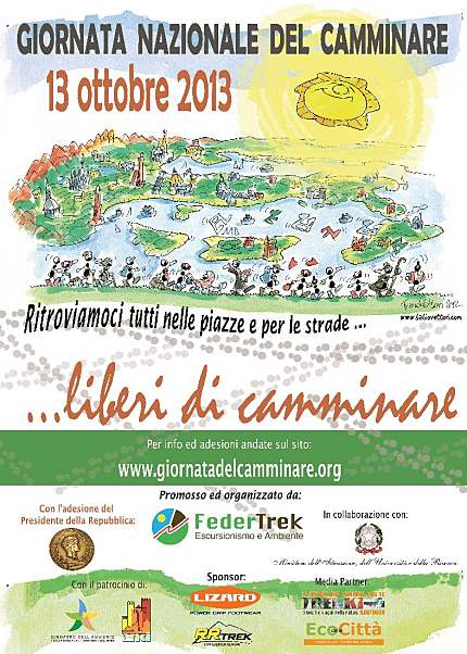 Giornata Nazionale del Camminare 2013