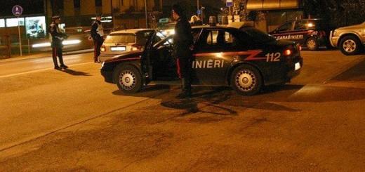 carabinieri controlli notte