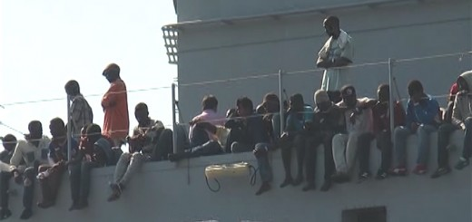 Migranti Salerno