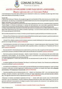 manifesto Comune di Polla rid