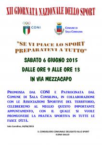 XII Giornata Nazionale dello Sport (1)