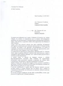 DOCUMENTO RIBUNALE PER TG SERA 15 SETTEMBRE