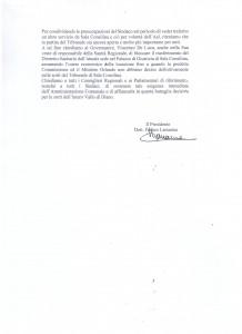 DOCUMENTO TRIBUNALE 2 PER TG SERA 15 SETTEMBRE