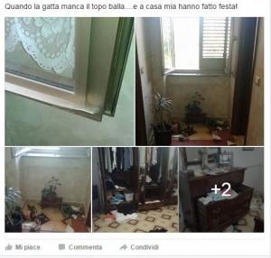 CASA LUIGI FURTO FACEBOOK