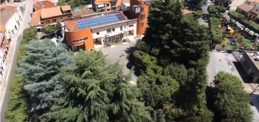 flying sant'arsenio DRONE isola ecologica