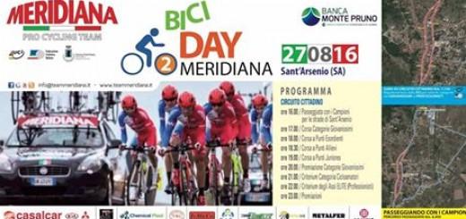 Meridiana bici day sant'arsenio