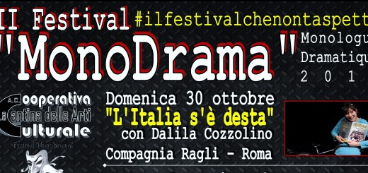 Festival MonoDrama 2016 - La Cantina delle Arti 2