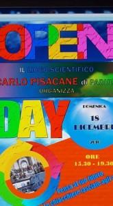 OPEN DAY LICEO PISACANE PADULA 18 DICEMBRE