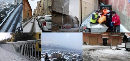 collage neve e gelo sala consilina