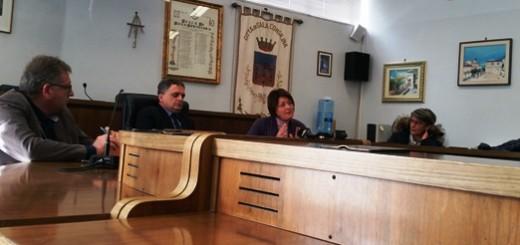 conferenza stampa sala consilina