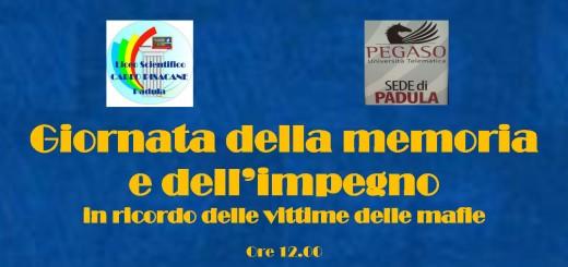 Giornata della memoria vittime mafie pisacane padula