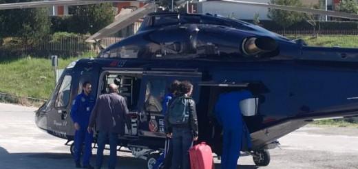 elicottero trasporto organi