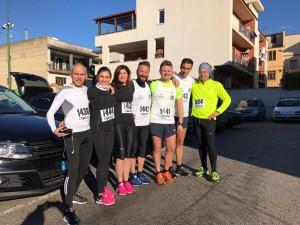 podisti sala consilina mezza maratona roma-ostia
