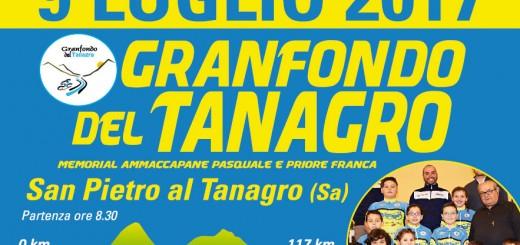 IV «Granfondo del Tanagro». Locandina ufficiale dell'eve_nto