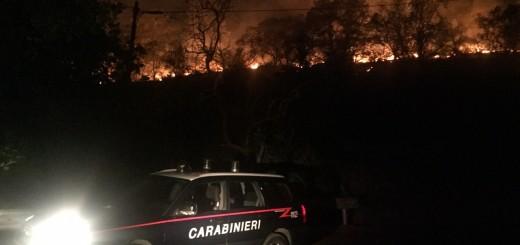 carabinieri-incendio- arresto- rumeno- teggiano-presunto-piromane