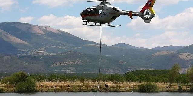 Elicottero D Occasione : Carpodromo di sant arsenio danneggiato il proprietario