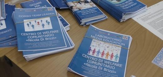 CENTRO WELFARE COMUNITARIO NICOLA DI BRIZZI LABORATORI E CORSI
