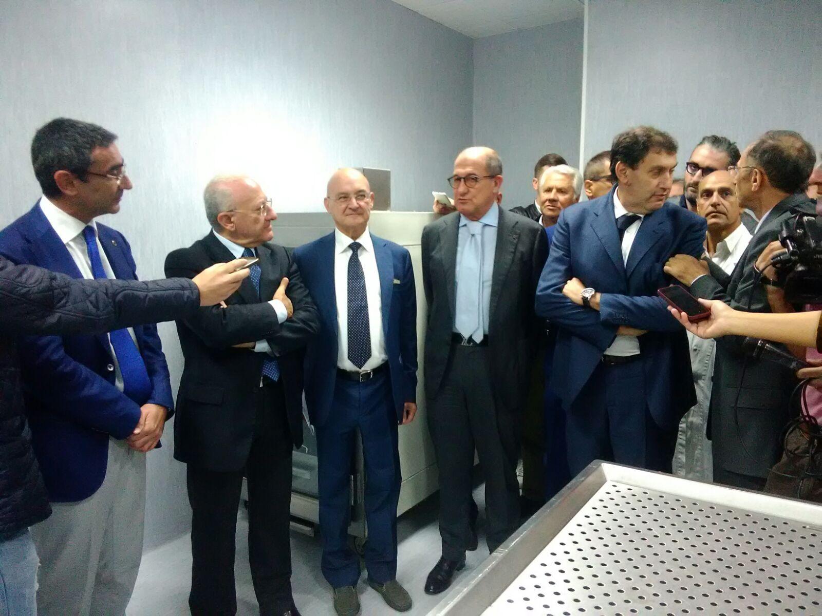 San Severino, inaugurato l'istituto di Medicina Legale con Tommasetti e De Luca