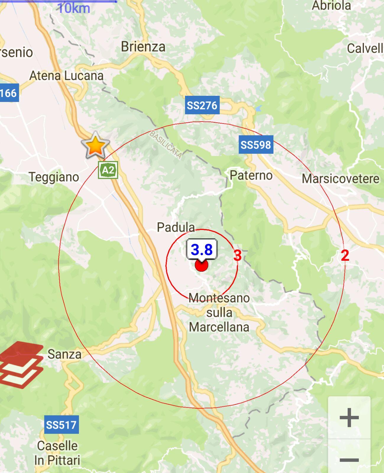 Terremoto nel Vallo di Diano. Scuole chiuse in via precauzionale
