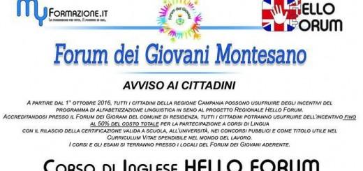 locandina corso forum