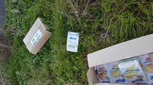 pacchi alimentari abbandonati tanagro (6)