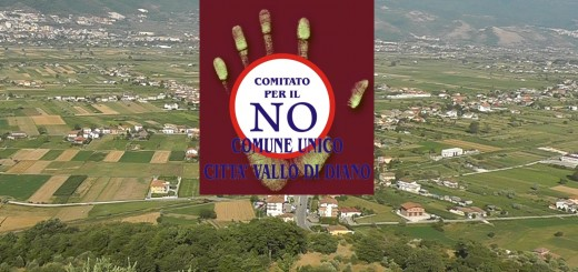 COLLAGE NO COMUNE UNICO VALLO DI DIANO