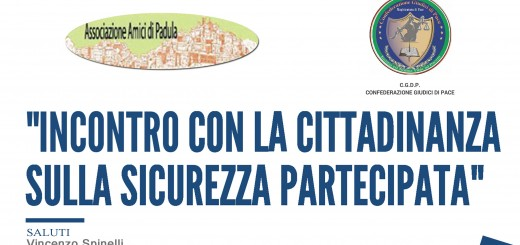 Confederazione Giudici di Pace-Salerno-Evento del 10-03-18
