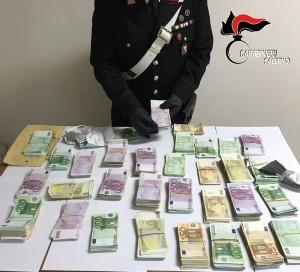 sequestro denaro cassaforte