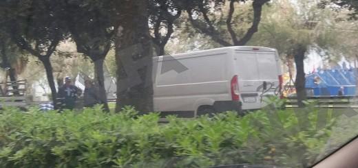 furgone sospetto