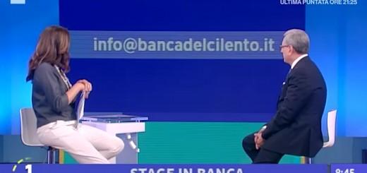 BANCA DEL CILENTO RAI 1 UNO MATTINA SOLIMENO  (1)