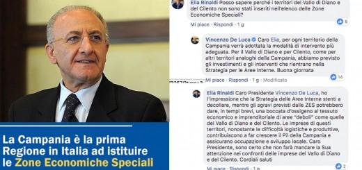 ELIA RINALDI ZES VINCENZO DE LUCA