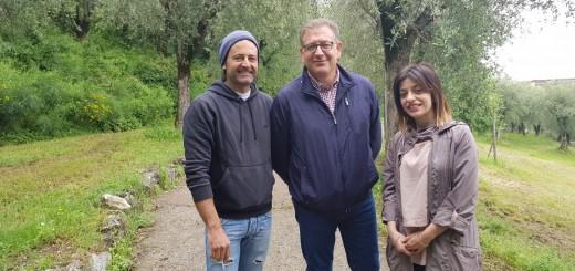 GAROFALO, LOPARDO E GALLO IN VILLA COMUNALE