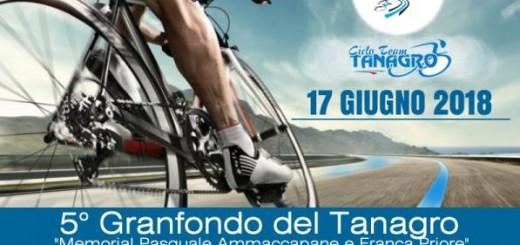 A.S.D. Ciclo Team Tanagro. «Granfondo del Tanagro», locandina ufficiale della corsa (1)