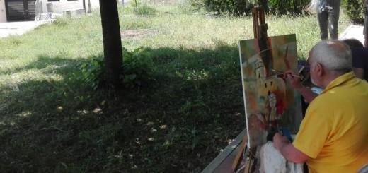 Estemporanea pittura