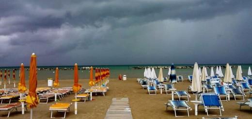 meteo pioggia spiaggia-2