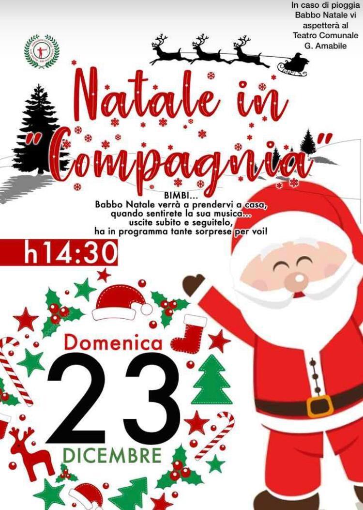 Babbo Natale Whatsapp.Natale In Compagnia Domani Con L Associazione Culturale Sant