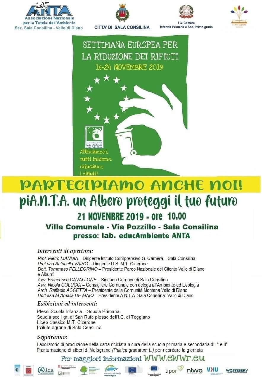 SALA CONSILINA Anche il Cicerone aderisce all'iniziativa dell'associazione ANTA - Italia2TV