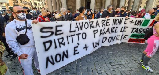 protesta roma pantheon Archivi - Italia2Tv