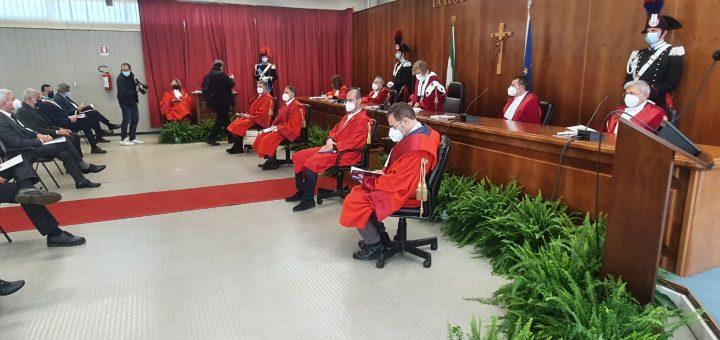inaugurazione anno giudiziario 2021 Potenza